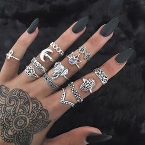 Jewelry - ✿ 13 Piece Boho Ring Set ✿